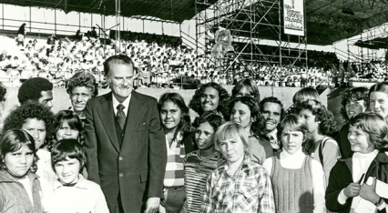 Youth Revival: The impact of the 1959 Billy Graham Crusade on young people image