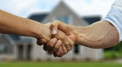 Is the end of handshaking the start of real fellowship? image