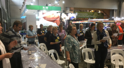 Read Meet the minister behind the scenes at the Easter show