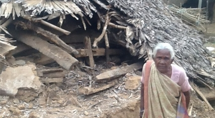 Read Anglican Aid to build homes in India