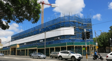 Read Moore turns 160 as new building rises