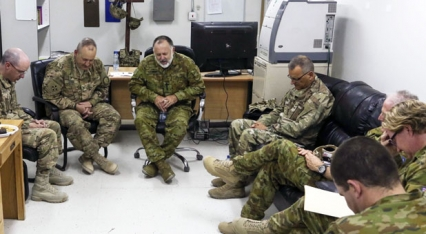 Read Military chaplains bonded by faith