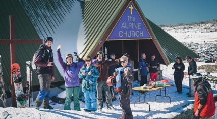 Read There's no ministry like snow ministry