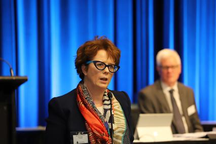 Lay delegate Glenda Devlin