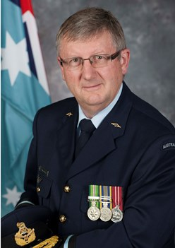 Air Commodore Kevin Russell