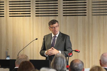 Archbishop Davies dedicates the new building