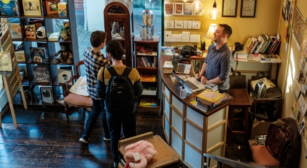 Little Lost Bookshop overcomes big challenges