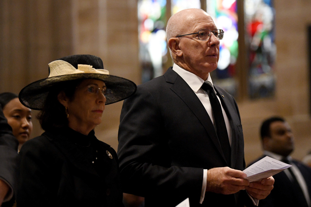 The Governor-General and Mrs Hurley