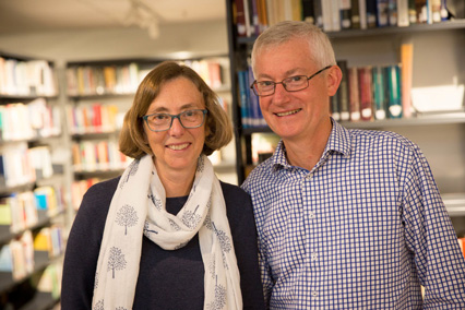 Keith and Sarah Condie