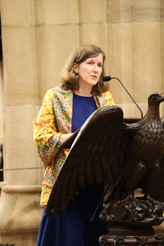 US Consul General Valerie Fowler