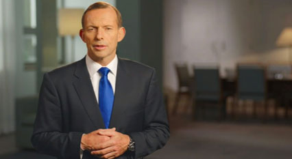 Tony Abbott on video